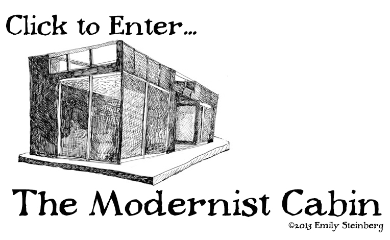 THE MODERNIST CABIN by Emily Steinberg