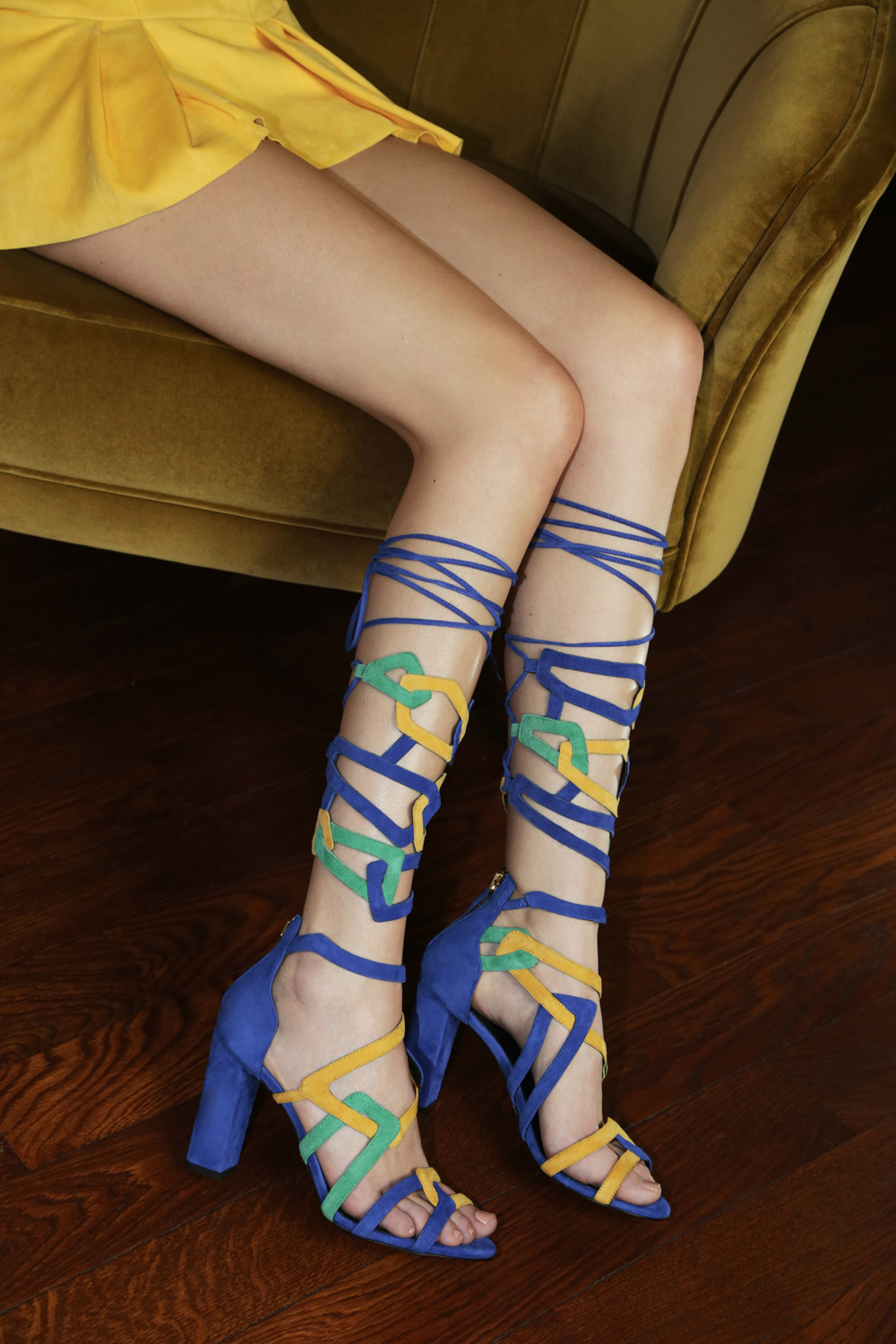 Clelia Tavernier: Jewel legs Majorelle | Accessories,Accessories > Others -  Hiphunters Shop