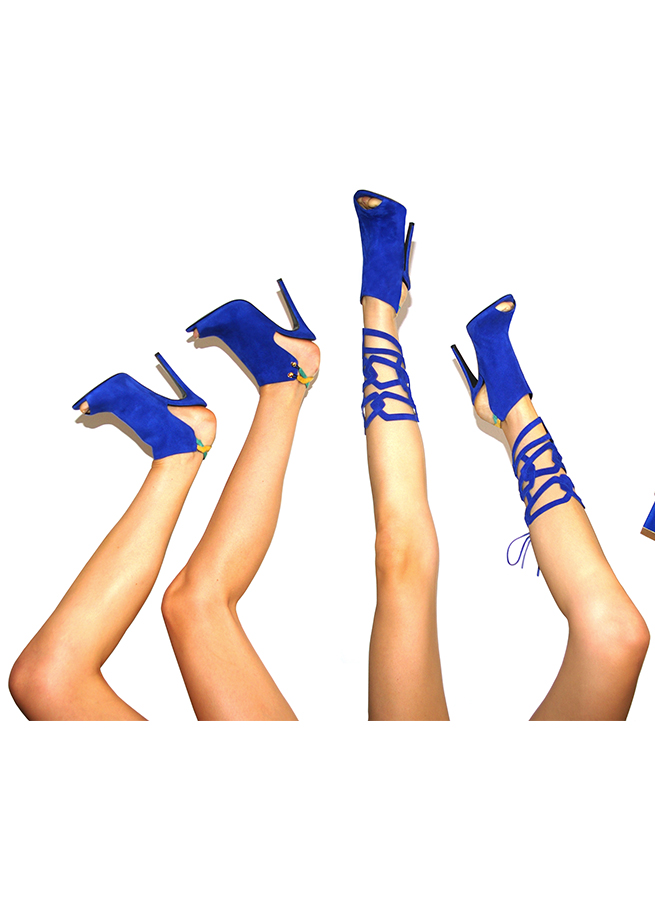 Clelia Tavernier: Jewel legs Bleu | Accessories,Accessories > Others -  Hiphunters Shop