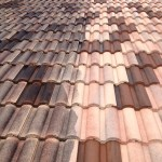 tile roof cleaning before