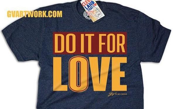 Do it for Love tee shirt