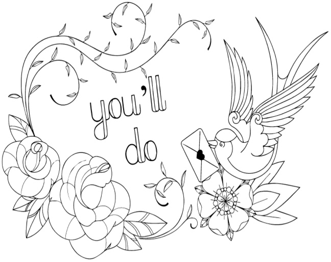 Swear Words Adult Coloring Books Coloring Pages