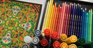 Monstrous Mandalas Coloring Book Review