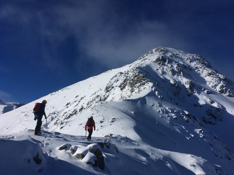Stellar day on one of our Scottish Winter Skills Courses!
