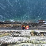 The almighty hail storm! More like Scotland in winter than Pembrokeshire!