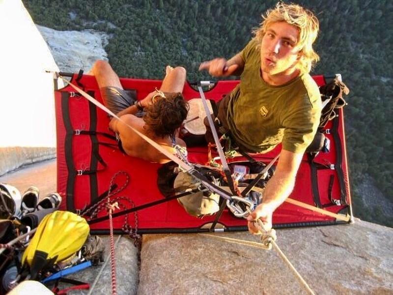 Portaledge below Salathe Head Wall, El Capitan, Yosemite. The epicentre of Big Wall Climbing!