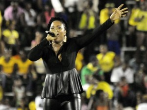 Queen Ifrica performs at the Grand Gala 2013 in the National Stadium!