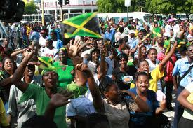Jamaicans on the march
