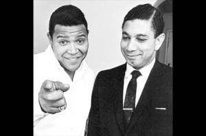 Stephen Hill with rocker Chubby Checker!