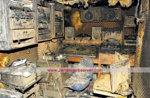 Bunny Lee's studio razed on March 9