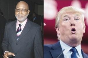 Kingsley Cooper & Donald Trump