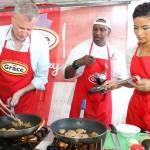 Mayor Bill, Chef Irie,