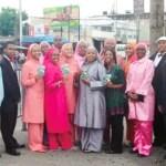Nation of Islam members in Kingston, Ja