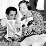 Lucien Chen & Sammy Davis Jr.