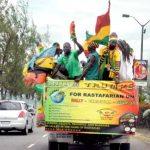 Motorcade for Prince Ermias Selassie