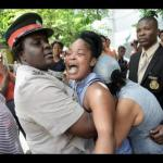 Police consoles mother