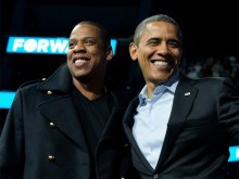 PRESIDENT OBAMA INDUCTS ABSENT JAY Z INTO SONGWRITERS HALL OF FAME VIA VIDEO!