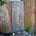 A zinc fence area in Kingston