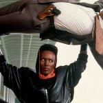 Grace Jones in a scene from the movie 'A View To A Kill'