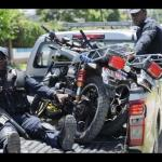 Police capture motor bike in raid in Red Hills area