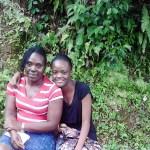 Sasha-Gay Smellie and her mother Bridgette Livingston