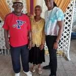 Trilla U with parents