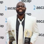 Richie Stephens poses with his ASCAP Awards