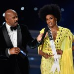 Davina Bennett and Steve Harvey