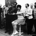 Aretha Franklin, Rick Hall & Musicians in studio.