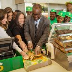 Subway opening in Portmore