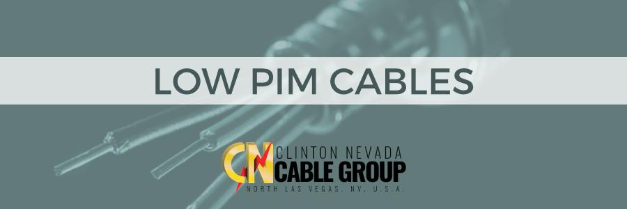 Low PIM Cables