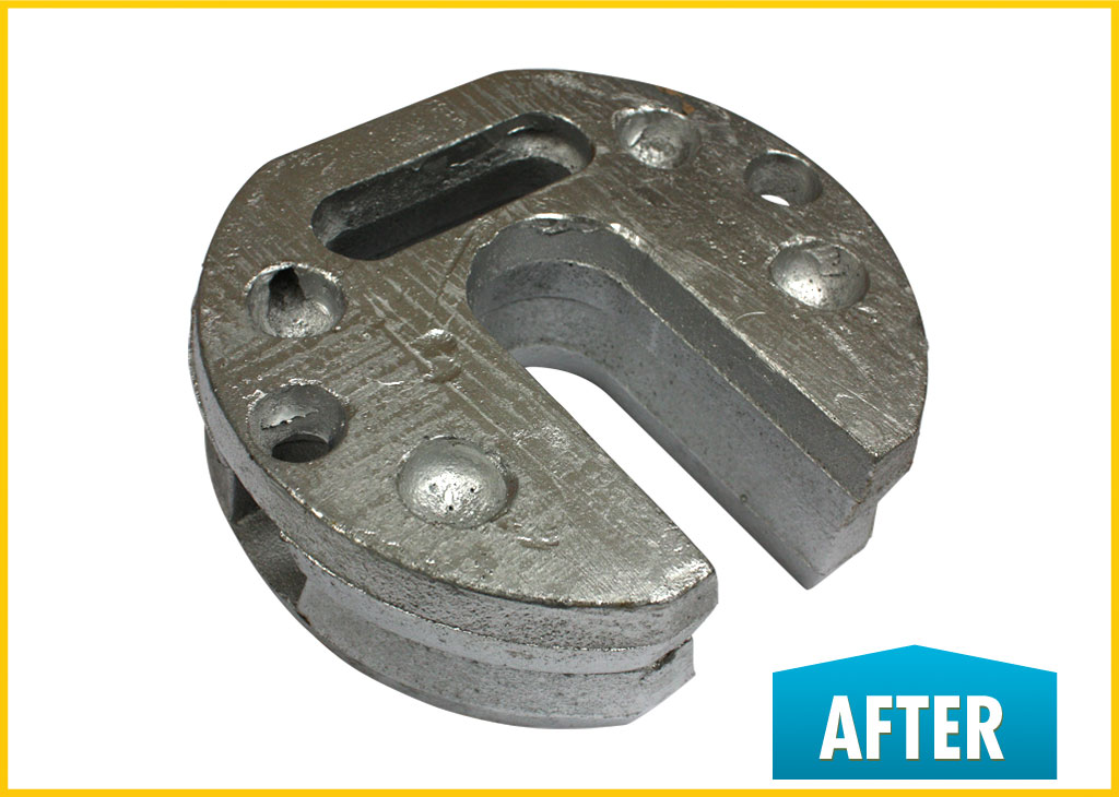 Steel Leg Weight (After)