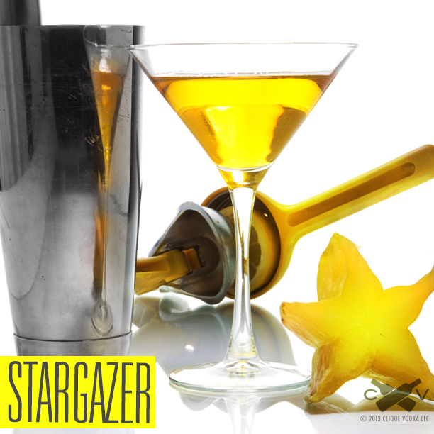 This bright an citrusy cocktail is perfect for watching meteor showers!
