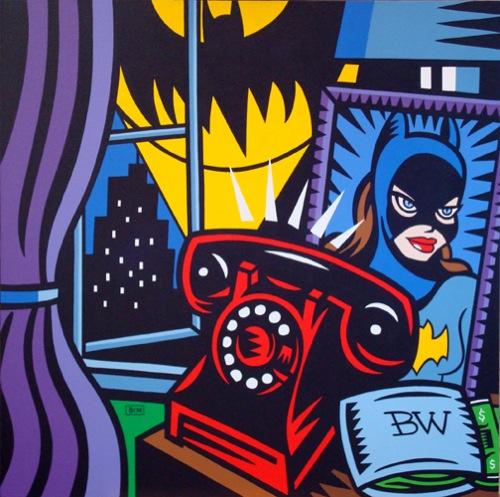 Burton Morris, Bruce Wayne Nightstand