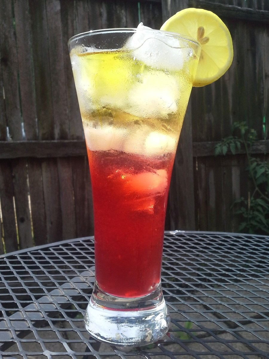 Home made sweet tea vodka in a classic John Daly!
