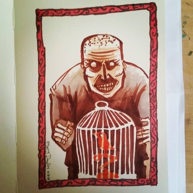 crazy-guy-bird-cage
