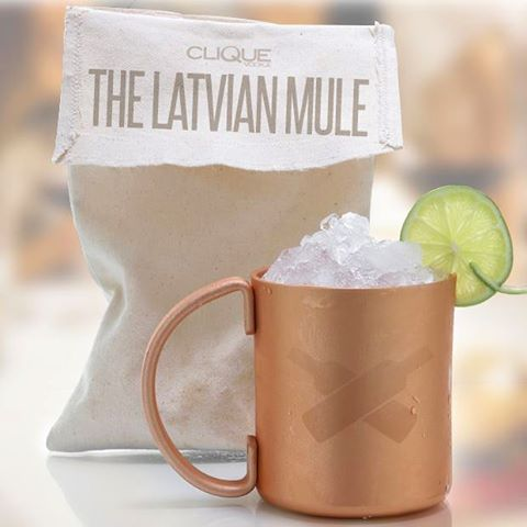 Cliques take on the Moscow Mule Recipe at wwwCliqueVodkacom moscowmulehellip