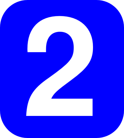 Number 2 Coner Num Clip Art at Clker.com - vector clip art online, royalty free & public domain