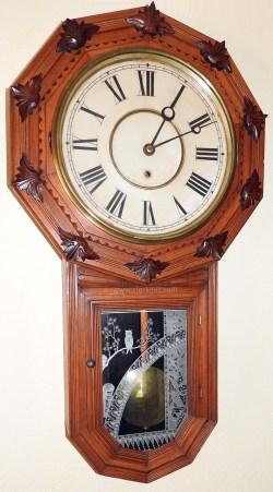 Engrossing Gilbert Clocks Guy William Gilbert Clock Company Clocks Star Shaped Wall Clocks
