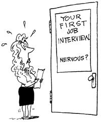 Listen to the advice give to you, and job interviews will not be scary.