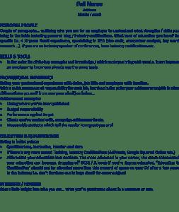 Good CV Template