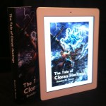 The novel cover as it appears on the iPad.
