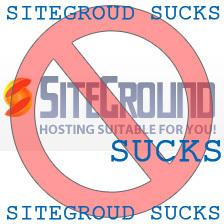 Siteground Sucks