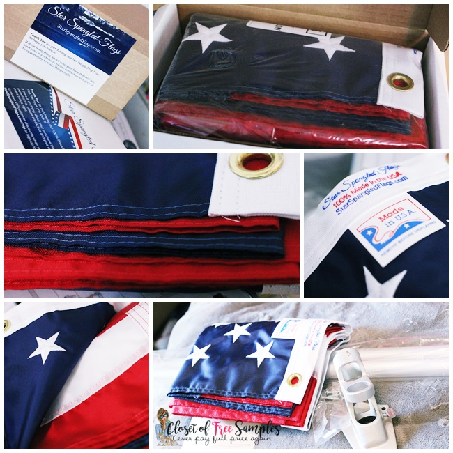 Star Spangled American Flag #Review + Coupon Code