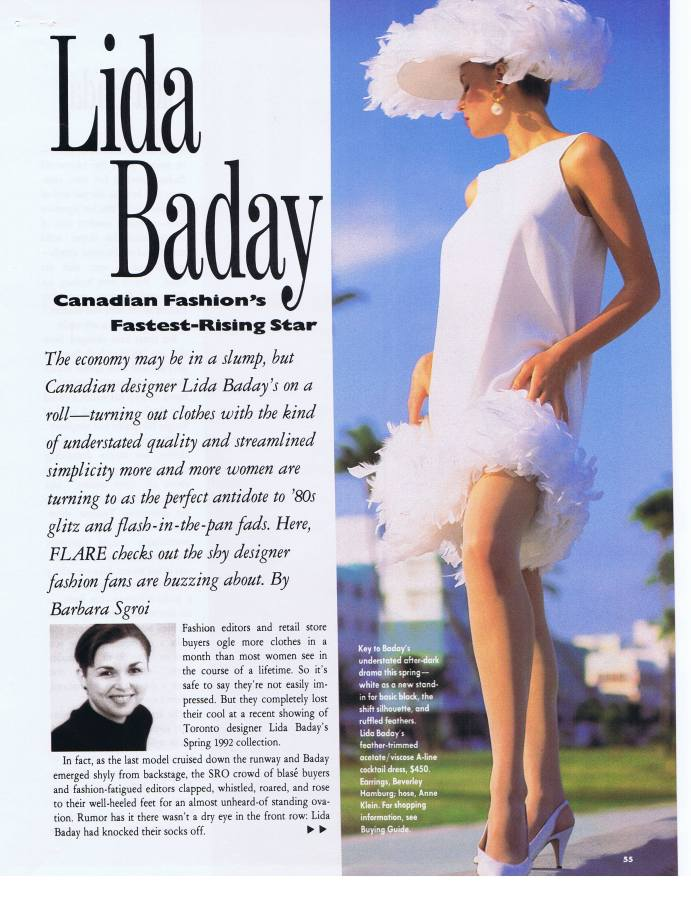 1992 flare april baday