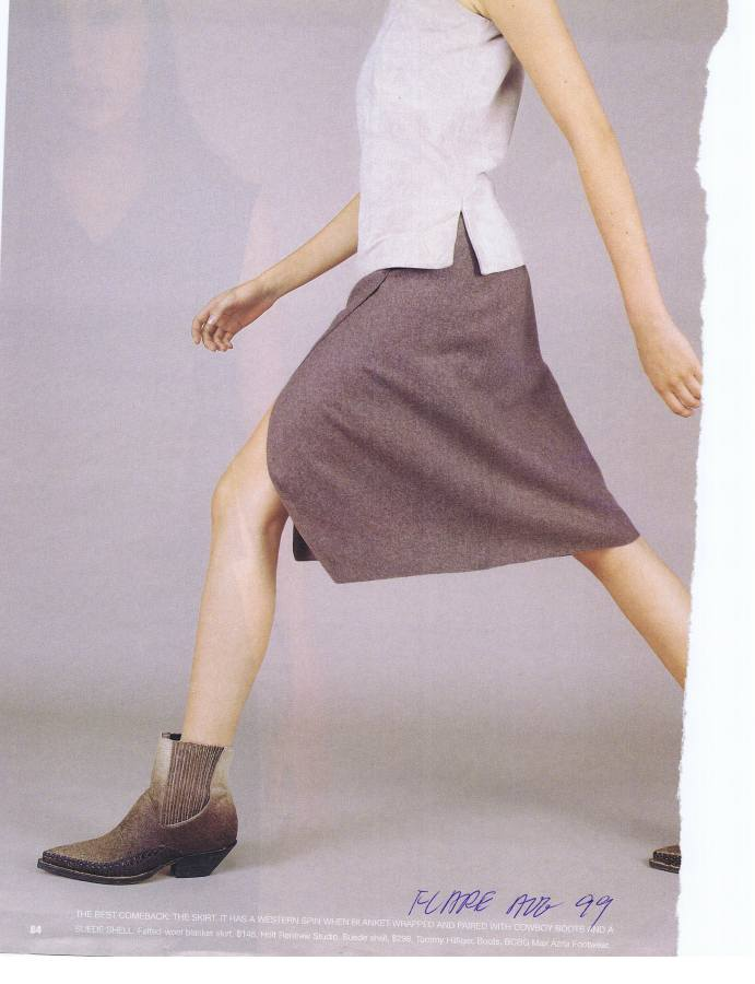 "LIDA BADAY ""FLARE"" AUG 1999"