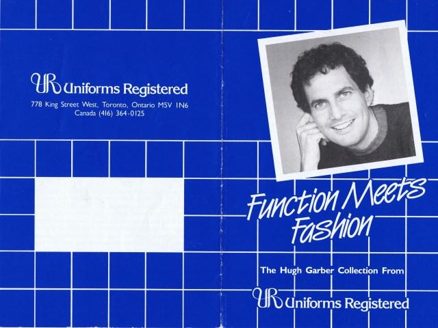 HUGH GARBER  UNIFORMS REGISTERED 1983 1/6 HGA
