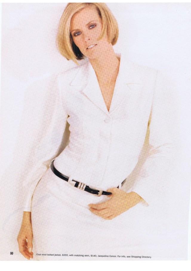JACQUELINE CONOR FASHION MAGAZINE SPRING SUMMER 1996