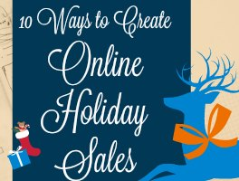 10 Ways to Create Online Holiday Sales