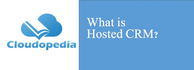 Definition of Hosted CRM